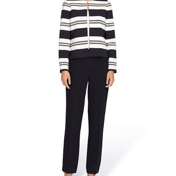 Tahari ASL Varigated Striped Pant Suit | Dillards