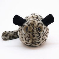 Cheetah the Chinchilla Stuffed Plush Toy