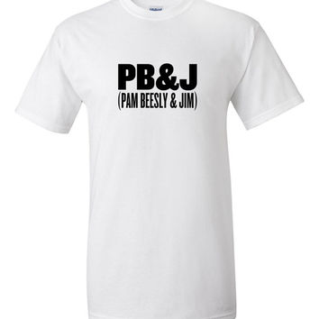 PB&J (Pam Beesly and Jim) T-Shirt