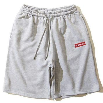 LMFON Supreme vintage Sports brief drawstring Shorts Short Pants