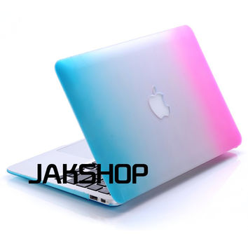 2016 New Pro 13 15 A1706 A1707 A1708 Laptop Case Logo Cut For Apple Macbook Pro Air Retina 11 12 Transparent Matte Hard Cover