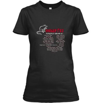 Parks and Recreation Mouse Rat Formerly Known As T-Shirt Ladies Custom