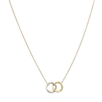 Delicati Diamond Jaipur Link Necklace by Marco Bicego