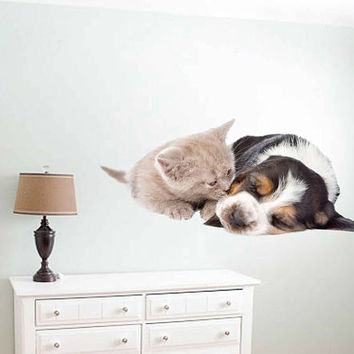 dog Wall Decals cat wall decor Animals wall Decals dogs Full Color Decals dog Art Sticker veterinary clinic decor Home Decor cik2228