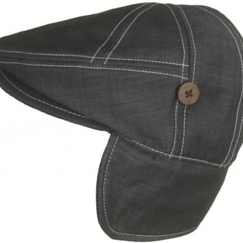 "Goorin Bros ""Jim Cramer"" Earflap Driver Hat (Medium)"