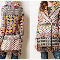 Anthropologie Satpura Sweater Coat Sz S - By Angel of the North - NEW - Rare!!!