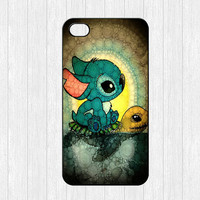 Stitch and Turtle iPhone 4 Case,Lilo and Stitch iPhone 4 4g 4s Hard Case,Swimming Stitch cover skin case for iphone 4/4g/4s case,More styles