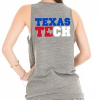 Texas Tech Red Raiders Womens Tank Top