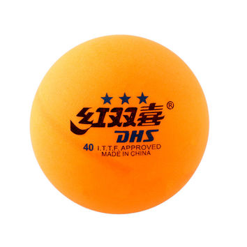 SEWS High Quality 1 boxes 6 Pcs 3 stars DHS 40MM Olympic Table Tennis Orange Yellow Ping Pong Balls Durable For Competition