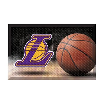 Los Angeles Lakers NBA Scraper Doormat (19x30)