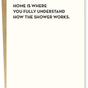 Understand How the Shower Works Card