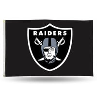 NFL Oakland Raiders 3' X 5' Banner Flag