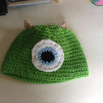 Monsters Inc Mike Wazowski Hat