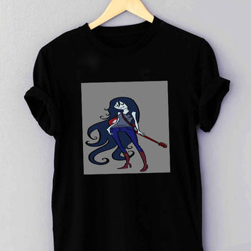 Adventure time Marceline Guitar - T Shirt for man shirt, woman shirt XS / S / M / L / XL / 2XL / 3XL**