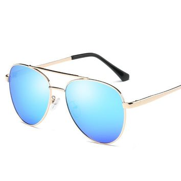 Popular Brand Design Vintage sunglasses polarized lens  Retro Metal frame Men's sun glasses Driving Outdoor Eyeglasses