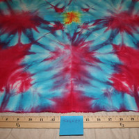 "Tie Dye Fabric Ice Dyed Handkerchief Linen 54""x27"""