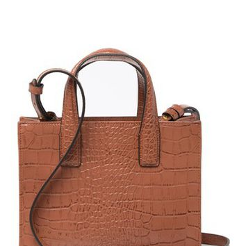 Kurt Geiger London | Small Croc Embossed Leather London Tote | Nordstrom Rack