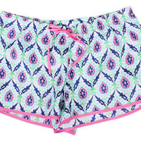 Women's Ambrosia Boxer, Blue/Multi, Pajamas
