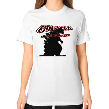 Godzilla Unisex T-Shirt (on woman)