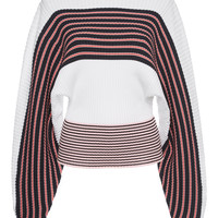 Boat Neck Striped Sweater | Moda Operandi