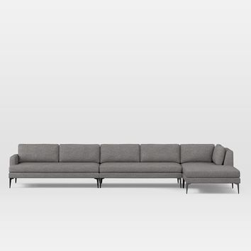 Andes 4-Piece Chaise Sectional
