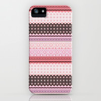 Cute Pattern iPhone Case iPhone & iPod Case by PinkBerryPatterns