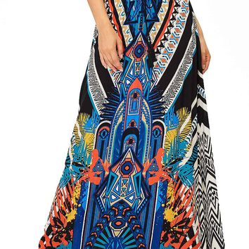 Tribal Vibe Maxi Skirt