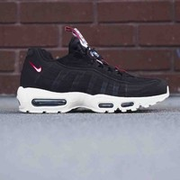 NIKE AIR MAX 95 Women Men Fashion Sport Shoes Sneakers Shoes Black B-CSXY