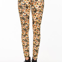 Sunflower Bloom Leggings - LoveCulture