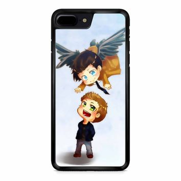 Supernatural Destiel Fanart iPhone 8 Plus Case