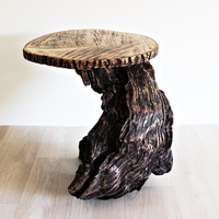 Coffee Table Rustic Driftwood Oak Furniture Garden Table