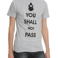Lord Of The Rings You Shall Not Pass Slim-Fit T-Shirt