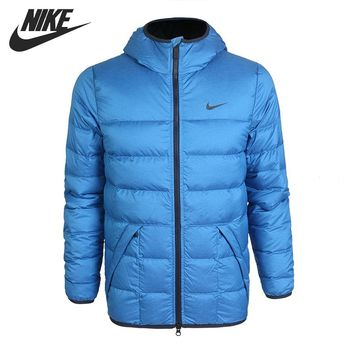 Original NIKE ALNCE 550 JKT HD LT men's down jacket Hiking Down sportswear