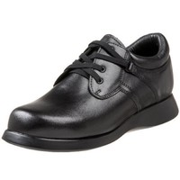Drew Shoe Women`s Krissy Oxford,Black Calf,5.5 W US