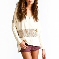 gentle fawn - bewitch cardigan (antique white) - Gentle Fawn | 80's Purple