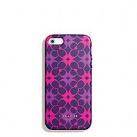 Coach :: IPHONE 5 CASE IN WAVERLY SIGNATURE PRINT