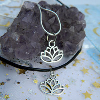 Lotus Choker / Necklace from whismical
