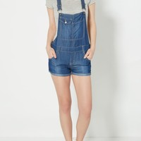 Denim Cuffed Overalls | Jumpsuits & Rompers | rue21