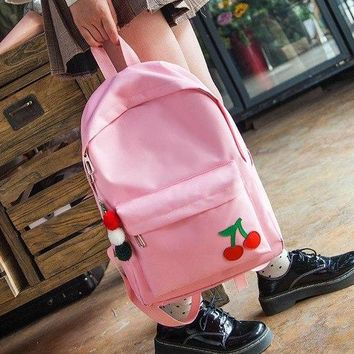 University College Backpack 2018 NEW THREE FEATHER Canvas , simple   junior high school students  M01122AT_63_4