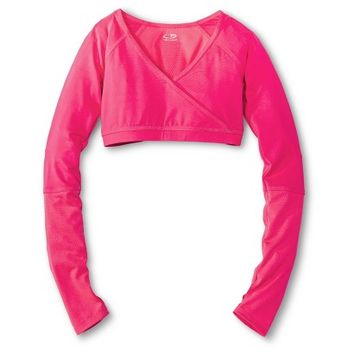 C9 by Champion® Girls' Long-Sleeve Dance Crop Top