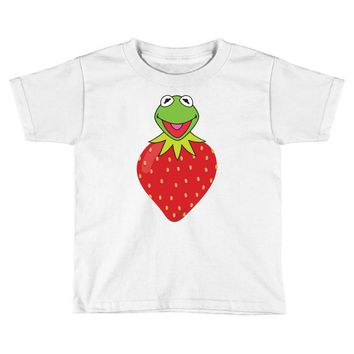 Kermit Strawberry Toddler T-shirt