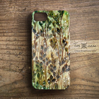 ombre iPhone 5 case - iPhone 4 case, iPhone 4s case, High quality 3D printing, gradient, green - spring breeze (c117)