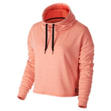 Hurley Dri-FIT Fleece Crop Cowl Pullover Women's Hoodie