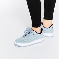 Nike | Nike Air Force 1'07 Light Grey Suede Trainers at ASOS