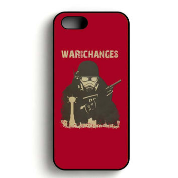 fallout 4 war never changes iPhone 5, iPhone 5s and iPhone 5S Gold case