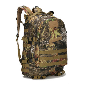 Mountaineering Bag 3D Military Backpack Nylon Waterproof Male Female Backpack Army Fans Camouflage Travel Bag X45