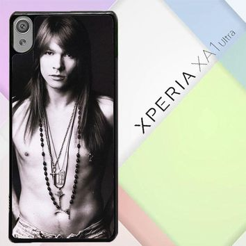 Axl Rose Guns And Roses Wallpaper Y0566 Sony Xperia XA1 Ultra Case