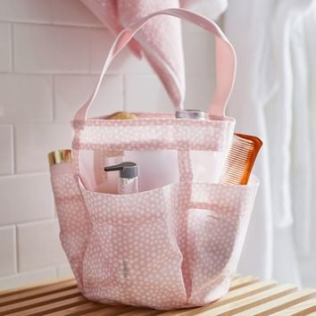 Shower Mesh Caddy, Mini Dot
