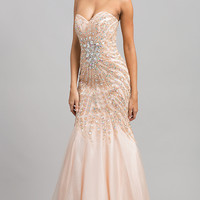 Alyce Strapless Sweetheart Long Dress