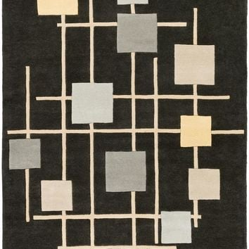 Surya Forum Modern Black FM-7200 Area Rug